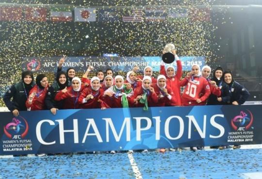 Iran women futsal team
