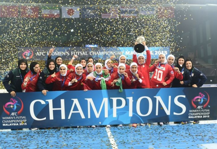 Iran women futsal team