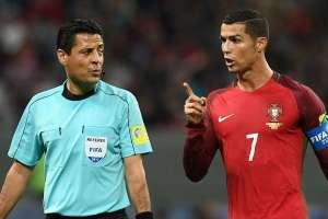 Alireza Faghani and Ronaldo